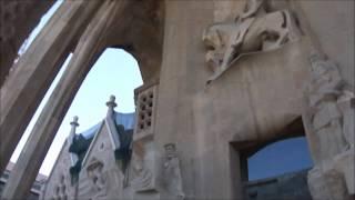 Sagrada Familia. Фасад. Барселона
