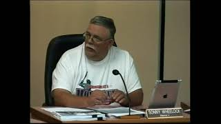Grand Traverse Co. Board of Commissioners meeting clips - July 18, 2018