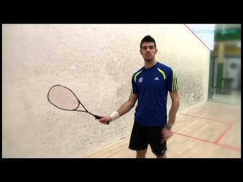 Squash 4. Coger la raqueta