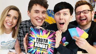 Dan And Phil Play TRUTH BOMBS! (with Tom And Hazel)