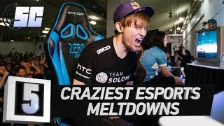 5 Craziest Meltdowns in eSports History | LoL eSports - dooclip.me