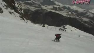 504 Boyz - Wobble Wobble (Snowboarding in French Alps 2003)