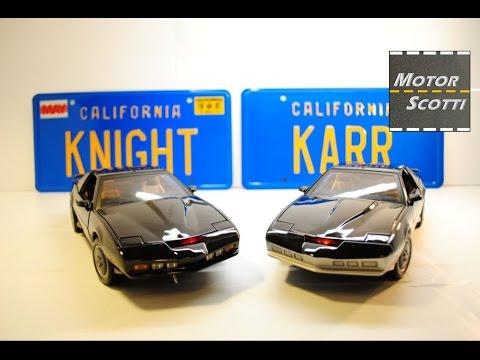 """1982 Pontiac Firebird Trans Am """"K.I.T.T."""" & """"K.A.R.R."""" – ERTL model cars – Part 1"""