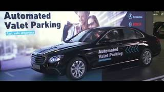 Daimler and Bosch demo automated valet parking