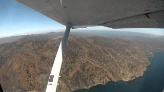 Flight from Long Beach to Catalina Island