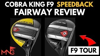 Michael Newton Golf  reviews the Cobra king F9 Speedback Fairway
