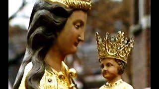 Terugkeer beeld Maria Vreugderijke in Oisterwijk, 1999