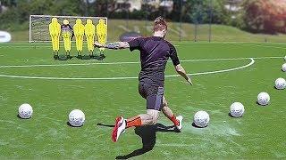 freekickerz vs Marco Reus - Free Kick Challenge