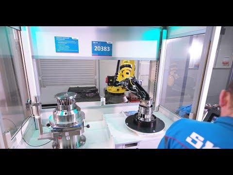 Fastems und SKF Aerospace – Robotic Flexible Fertigung – Robotic