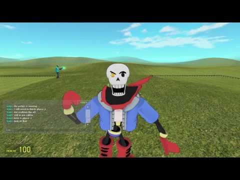 PAPYRUS Player model review!!!! | Gmod - смотреть онлайн на Hah Life