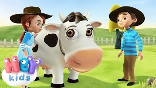 La Vaca Lechera   Canciones Infantiles | HeyKids