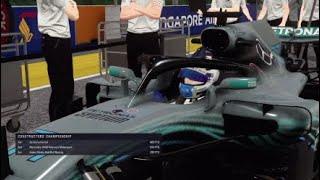 F1 2018 Career #38 Singapore GP