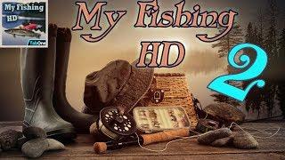 My fishing игра на Android #2 Эта рыба просто КОСМОС