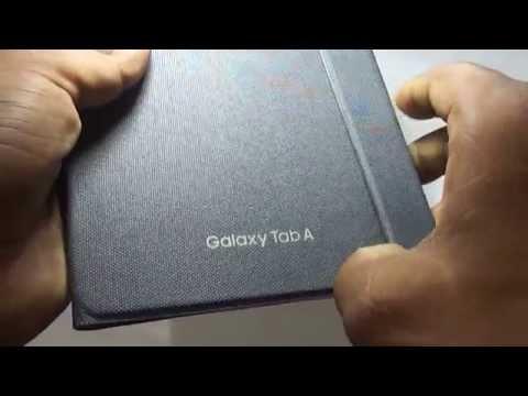 Samsung Galaxy Tab A 8.0 flip / book snap on cover [official/original]