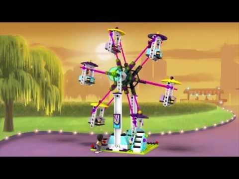 Vidéo LEGO Friends 41130 : Les montagnes russes du parc d'attractions