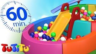 TuTiTu Türkçe | Top Havuzu |  En iyi çocuk oyuncakları | 1 Saat Özel