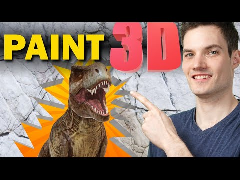 🐱🐉 How to use Microsoft Paint 3D