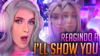 REAGINDO A K/DA - I'LL SHOW YOU [Official Concept Video] DA AHRI - ZAHRI REACT #19