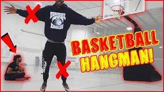 You Miss, You LOSE A LIMB! Hangman Basketball Challenge!