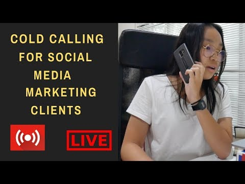How to Cold Call Social Media Marketing Clients in 2018