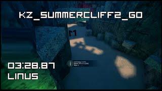 [CS:GO KZ] kz_summercliff2_go in 03:28.87 by linus