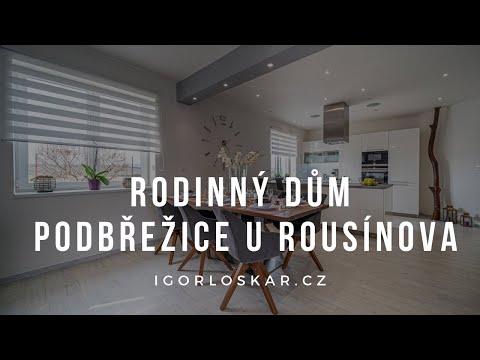 Video z << Prodej rodinného domu, 121 m2, Podbřežice >>
