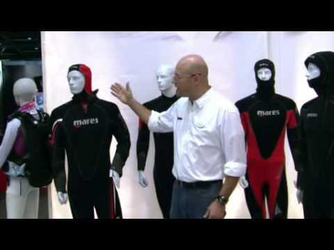 boot 2010: Die neue MARES Herren Tauchanzug - Kollektion