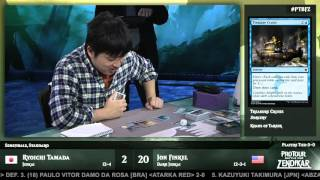 Pro Tour Battle for Zendikar Semifinals (Standard): Ryoichi Tamada vs. Jon Finkel