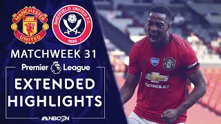 Anthony Martial's brilliant hat trick was all Manchester United needed to cruise to victory against Sheffield United at Old Trafford. #NBCSports #PremierLeague #ManUnited #SheffieldUnited » Subscribe to NBC Sports: https://www.youtube.com/nbcsports?sub_confirmation=1 » Watch Live Sports on NBCSports.com: http://www.nbcsports.com/live » Get more Premier League news on NBC Sports: https://nbcsports.com/soccer/premier-league  Want more Premier League? Check out NBC Sports Gold: https://www.nbcsports.com/gold/premier-league  NBC Sports Group serves sports fans 24/7 with premier live events, insightful studio shows, and compelling original programming. NBC Sports is an established leader in the sports media landscape with an unparalleled collection of sports properties that include the Olympics, NFL, Premier League, NHL, NASCAR, PGA TOUR, the Kentucky Derby, Tour de France, French Open, IndyCar and many more.  Subscribe to our channel for the latest sporting news and highlights!  The Premier League across NBC Sports Group launched in 2013 with their biggest and broadest programming commitment to-date in the United States. With live multi-platform coverage of all 380 games, analysis from best-in-class talent and extensive surrounding coverage all week long, NBC Sports Group has become the ultimate destination for new and existing Premier League fans.  The Premier League maintains strong and consistent reach across NBC, NBCSN, CNBC, and NBC Sports Group's live streaming products, led by the biggest stars and most prestigious teams in the world.  Visit NBC Sports: https://www.nbcsports.com Find NBC Sports on Facebook: https://www.facebook.com/NBCSports Follow NBC Sports on Twitter: https://twitter.com/nbcsports Follow NBC Sports on Instagram: https://www.instagram.com/nbcsports/  https://www.nbcsports.com/nfl/sunday-night-football https://nbcsports.com/motors/nascar https://nbcsports.com/soccer/premier-league  Manchester United v. Sheffield United | PREMIER LEAGUE HIGHLIGHTS | 6/24/2020 | NBC Sports https://www.youtube.com/nbcsports