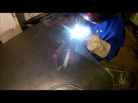 Diy sheet metal dustpan / Ein Kehrblech selber bauen
