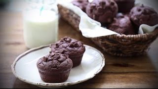 طريقة عمل مافن الشوكولاتة