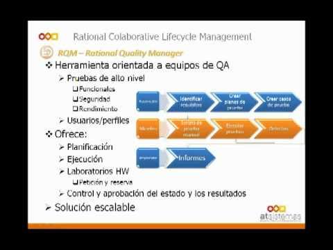 Gestión del ciclo de vida de aplicaciones con IBM Rational