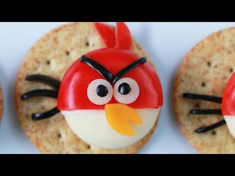 ANGRY BIRDS CHEESE AND CRACKERS – NERDY NUMMIES