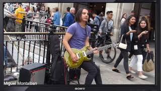 When Professional Guitarists Plays On The Street