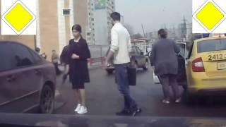 Жесть на дороге 2017  Бои без правил