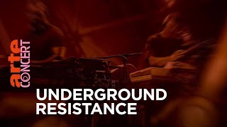 Underground Resistance - Live @ Red Bull Music Festival Berlin: S3kt0r UFO – 30 Jahre Techno 2018