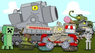 Top 8 Series - Cartoons about tanks