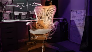 Best Office Chair // Herman Miller Mirra 2