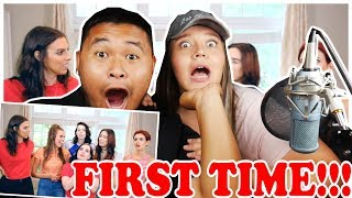 Cimorelli - One Direction Medley | FIRST LISTEN! | REACTION 2018