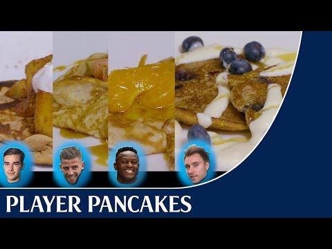 Player Pancakes – Make the players' favourite pancakes!