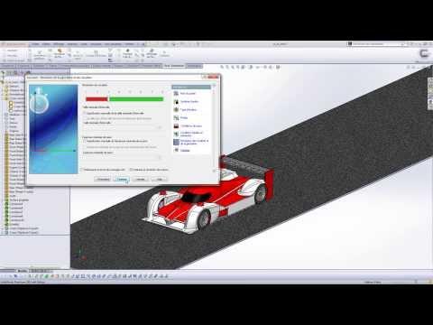 Flow Simulation : Calcul de Cx