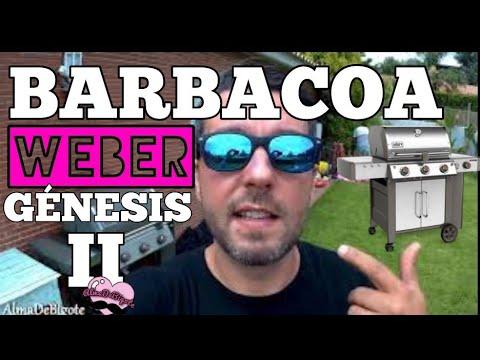 BARBACOA WEBER GÉNESIS II, UNA BESTIA DEL GRILL