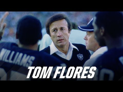 "Tom Flores: ""The Silver and Black Means A Lifetime"""