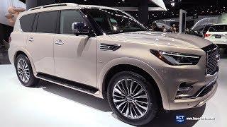 2018 Infiniti QX80 - Exterior and Interior Walkaround - 2018 Detroit Auto Show | Kholo.pk