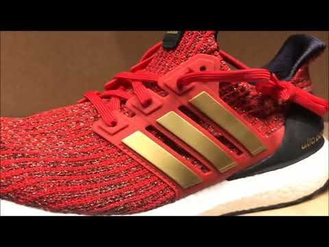 "FIRST LOOK Game of Thrones x adidas Ultra Boost ""Lannister"
