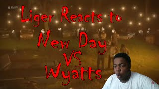 New Day VS Wyatts Reaction Video