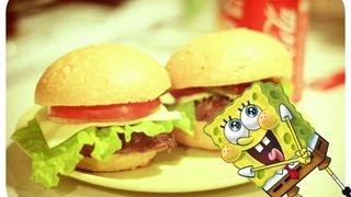 Смотреть онлайн Рецепт крабсбургера по рецепту Спанч Боба