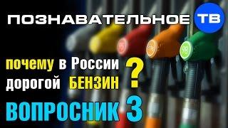 Вопросник 3: Почему в России дорогой бензин? (Познавательное ТВ)
