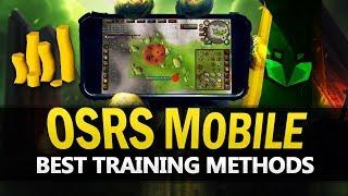 Best OSRS Mobile Training Methods