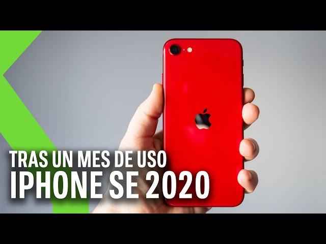 iPhone SE 2020 tras un mes de uso: le decimos SÍ como una casa, pero no para todo el mundo